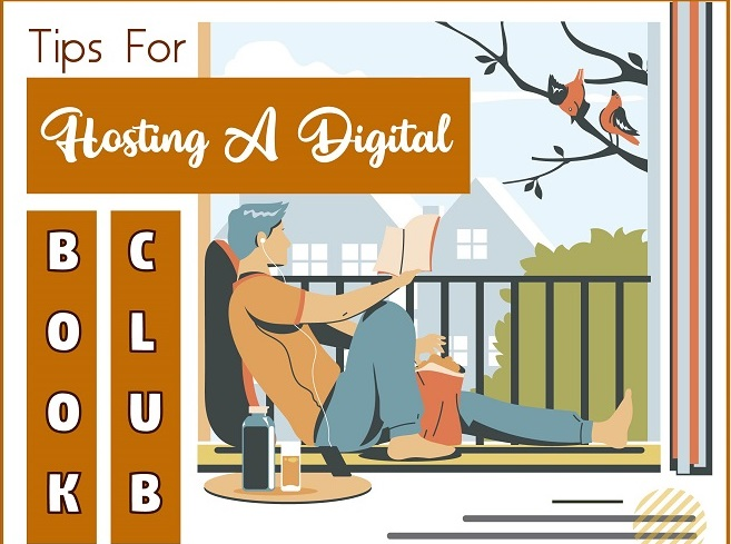 Tips For Hosting A Digital Book Club ft